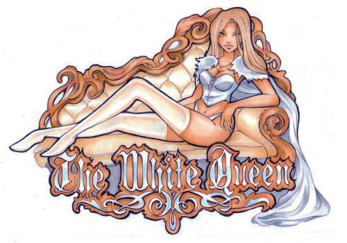 The white queen by Nina-D-Lux