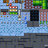 SMB2 City Theme Tileset by Dariuscox357