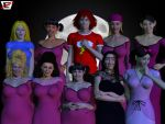 Total Undead Drama- The 3rd Group Photo by ImfamousE
