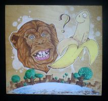 what monkeys like by YourFathersMustache