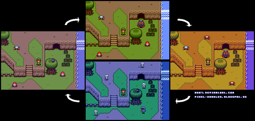 2D Zelda Day/Night Cycle by BG87
