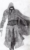 Assassin Creed #1 : Ezio Auditore Da Firenze by LOrdalie