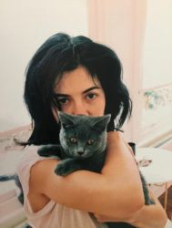 Marina and her Kitty by 1Dolcevita1