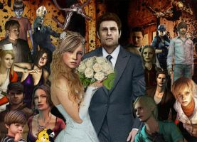 Silent Hill strange wedding by Sherringui
