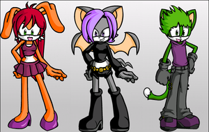 Teen Titans - Sonic Style? by LeKitty