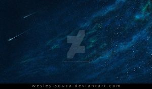 Space Nebula Premade Stock by Wesley-Souza