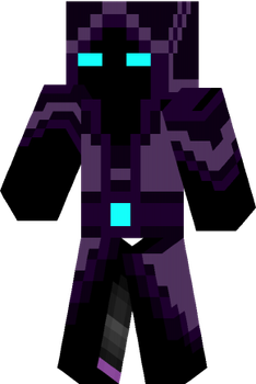 Minecraft skin Ender by Techno-Drawer