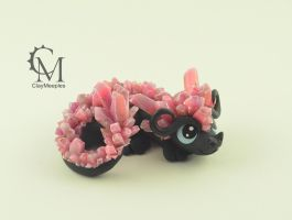 Ruby Crystal Dragon by claymeeples