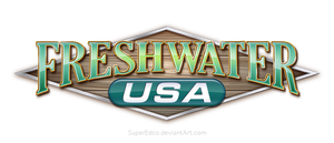 Freshwater USA logo by SuperEdco