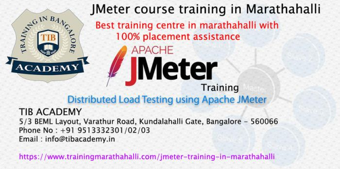 Best JMeter course training centre in marathahalli by menaka133
