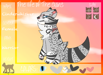 :.: Cinderwhisker Application- TLOTC :.: by PaintedGems