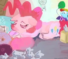 Pinkie Cold by doctorpepperphd