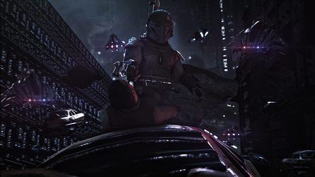 Boba Fett - Dead or Alive, You're Coming With Me by Scotchlover