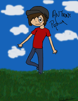 Anthony Padilla Cartoon_Doodle_ by EdwardAlphonseElric