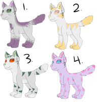 Canine Adopts (4/4 OPEN) by RainbowSwirlix