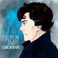 YOU JUST DON'T OBSERVE by krusca