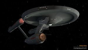 Boldly Going by trekmodeler