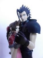 Zack and Aerith Reunited by Miss-Sweetlivvy