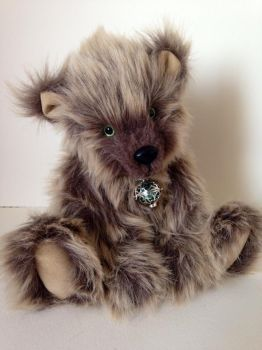 Scamp OOAK bear by BumbleBeeFairy