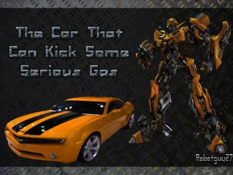 Bumblebee Can Kick Gas by robotguy27