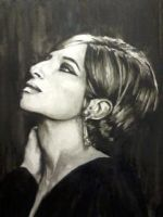 Young Barbra Streisand by suesam10