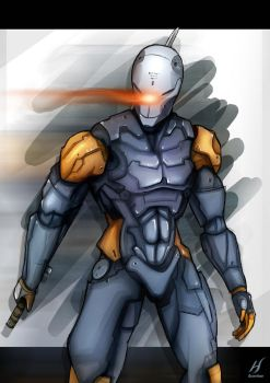 Metal Gear Solid - Gray Fox by MatthewHogben