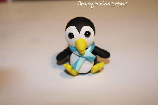 Polymer clay Penguin by Lugiafan4life
