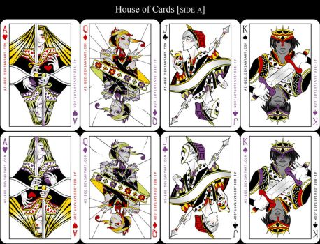 PT - House of Cards [Side A] by Beedalee-Art