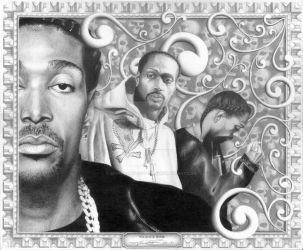 The Originator - Krayzie Bone by BiondoArt-dot-com