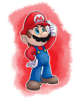 Mario by MudSaw