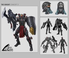 The Knight - Concept 2 by darthrith