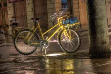 A Cycle in Lyon by Kalabint