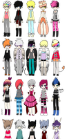 FREE Watchers Adopts Only :CLOSED: by DreamSeizure-Adopts