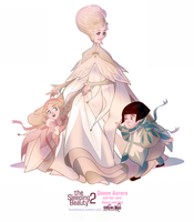 The Sleeping Beauty 2 - Queen Aurora and her twins by umidelmare