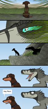 Dogs of the Hidden World:Chapter 1:Page 2 by PandaFilmsG