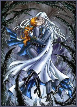 Kunzite and Zoisite kiss by Candra