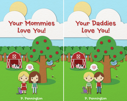 Book Cover - Your Mommies/Daddies Love You! by mocha-san