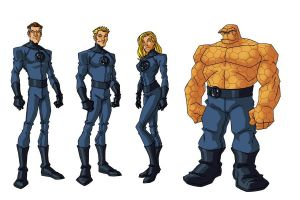 Fantastic Four by CAPTAIN-AMAZING-17