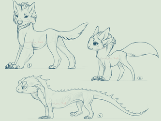 SPECIES/CHARACTER CONCEPT + FULL PERMS (CLOSED) by NorthernRed