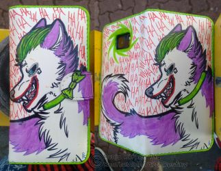 Joker Wolf Flipcase by RonTheWolf