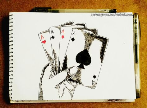 Aces Of All Cards by NoreenGrace