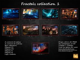 Fractals collection 1 by hmn