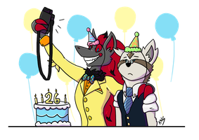 Happy Birthday Old Sport by Foxikel