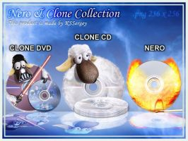 Nero and Clone CD collection by KSSergey