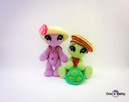 Josephine and Coquillon by Crocsbetty