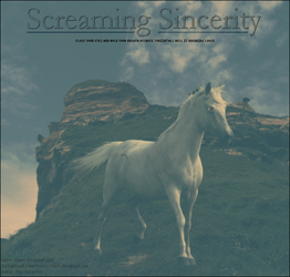 Screaming Sincerity by Suicidal-notes