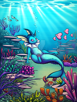 Under the sea by Rienquish