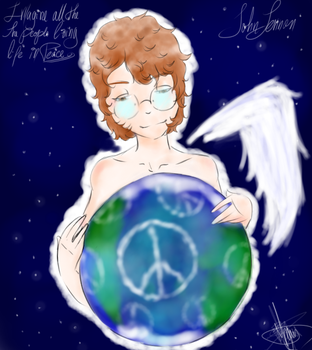 Tribute to: John Lennon by Magntaa
