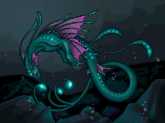 Feather of the Ocean by kilara