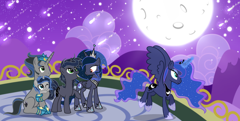 MLP FIH [Next Gen] Night of Desire and Hope Part 1 by VelveagicSentryYT